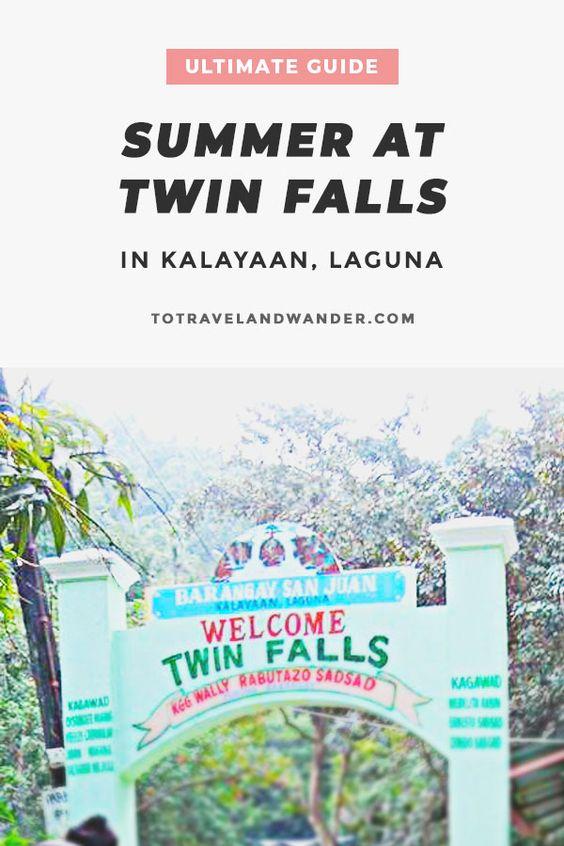 Summer at Twin Falls Kalayaan Laguna