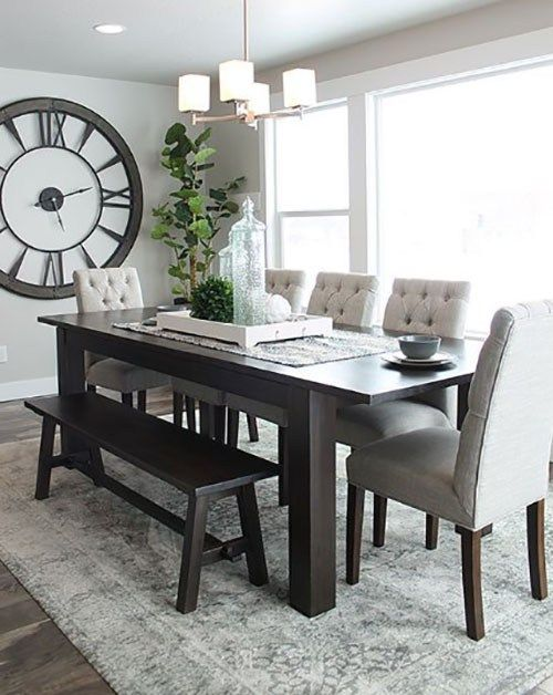 With A Selection Of Layouts As Well As Materials Obviously Picking A Dining Table Set Is Not As Si Dining Room Small Dining Room Table Decor Dining Room Combo