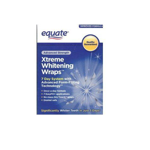 Equate whitening strip effectiveness studies