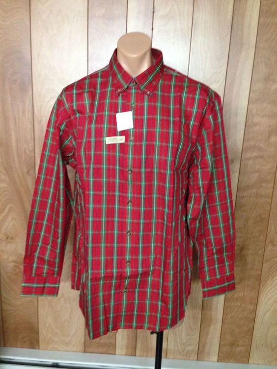 MEN'S CABELA'S BUTTON-DOWN SHIRT-SIZE: XL TALL #CABELAS #ButtonFront