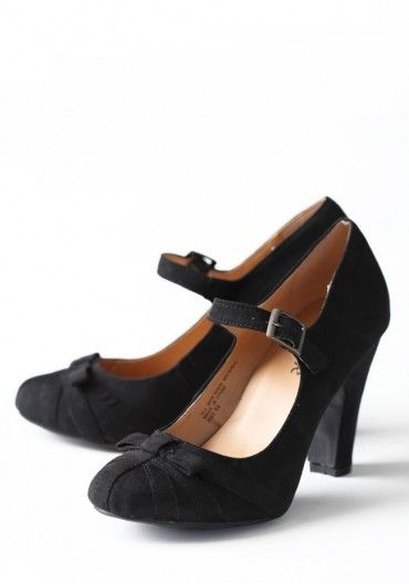 I'm in need of some basic black heels and these are perfect!