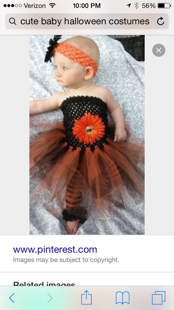 Cute baby Halloween costume!