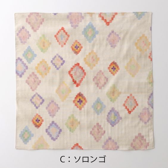 new! 大判ガーゼハンカチ 1 - nani IRO ONLINE STORE
