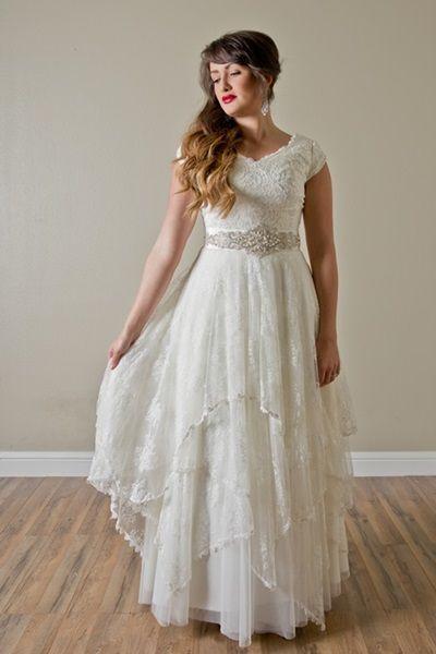 Modest Wedding Dresses For Rent In Utah : Utah dresses and stunning wedding on