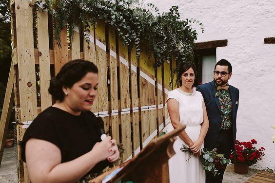 Alternative Farm House Wedding in Spain