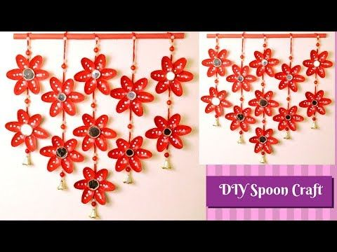 Wall Hanging Ideas With Plastic Spoon Spoon Craft Plastic Spoon