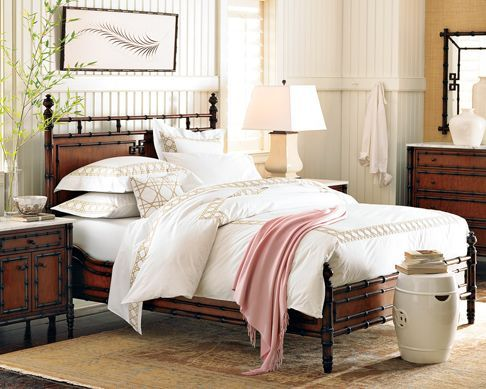 Williams Sonoma Hampstead Bed Colonial Style Decor Pinterest Beds Williams Sonoma And