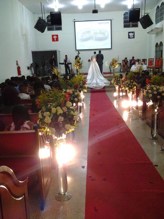 Decoração casamento Fabiola e Ralph