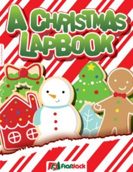 Christmas Holiday Lapbook - Celebrate the holiday season with this lapbook activity filled with adorable minibooks. $