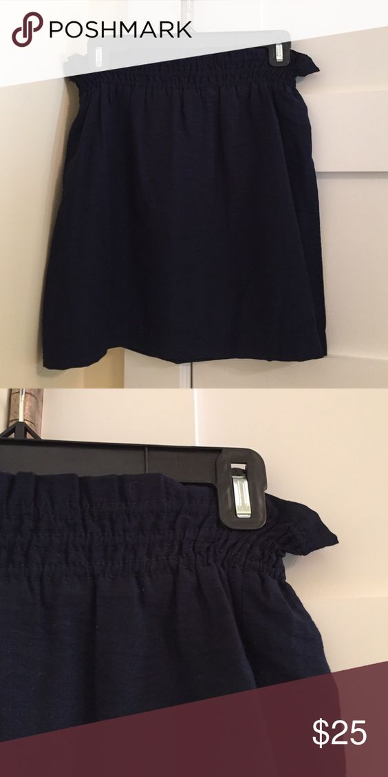 Skirt Great for all seasons. Mint condition. Super light weight. Not too short, great for business or the weekend. J. Crew Skirts Mini