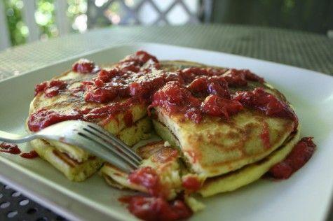 small measures with ashley: seasonal pancakes   Design*Sponge