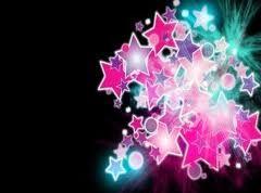 Estrellas rosas-azules