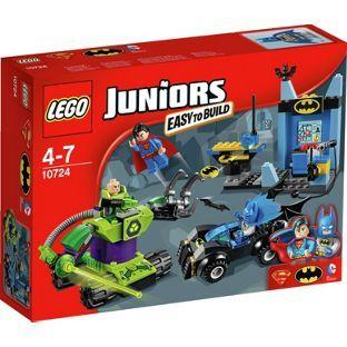 Buy LEGO Juniors Batman and Superman Vs Lex Luthor - 10724 at Argos.co.uk, visit…