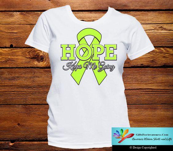 Lymphoma Hope Keeps Me Going Shirts