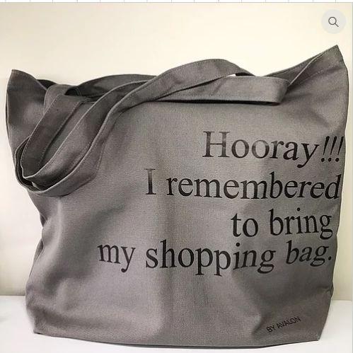Hooray Bag Gray