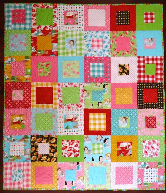 Layer Cake Quilt Size : layer cake squares quilts with layered cake squares ...