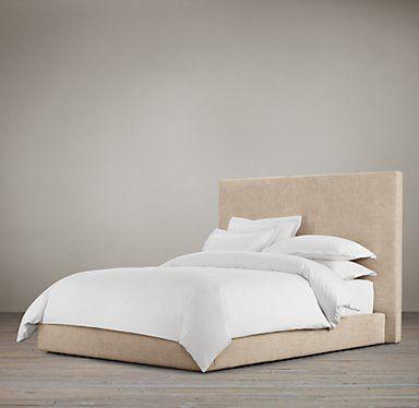 Fabric Beds   Restoration Hardware