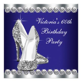 Woman Royal Blue Silver Birthday Party Jpg 324x324 Classy 60th Favors