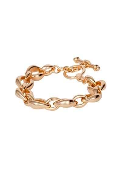 orleans+link+bracelet,+gold