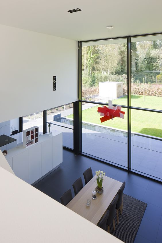 Architectenburo bart coenen te antwerpen architect van moderne woningen jij inspireert - Deco moderne woning ...