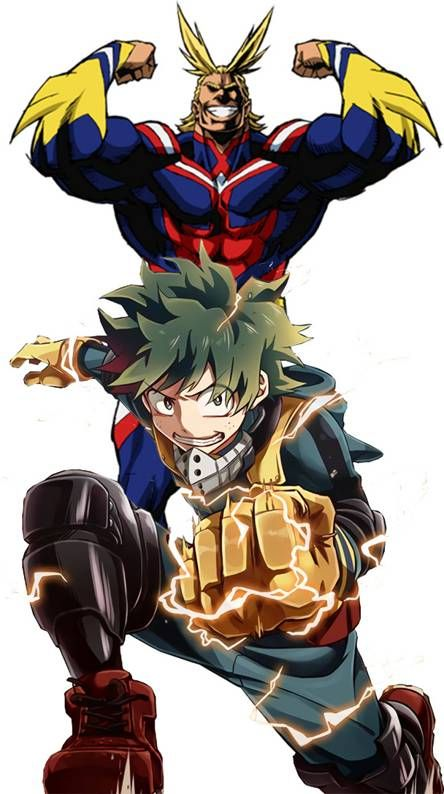 All Might And Deku My Hero Academia Episodes My Hero Anime Gangster