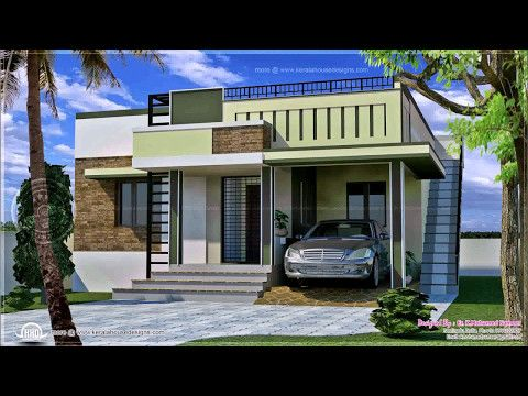 Indian Style Small House Front Elevation Youtube In 2019