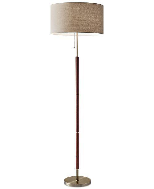 Adesso Hamilton Floor Lamp Reviews All Lighting Home Decor Macy S In 2021 Floor Lamp Styles Floor Lamps Living Room Floor Lamp Bedroom