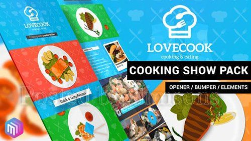 Love Cook - Cooking Show Pack
