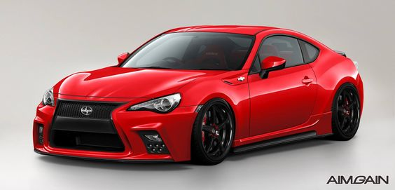 Toyota 86 \/ Scion FR S new body kit debut from Aimgain FR-S - design ideen frs bad