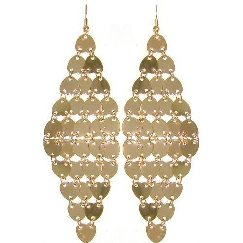 Multi Heart Shower Earrings In Gold,only for $4.99!!