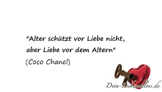 Natürlich hat auch Coco Chanel etwas über die Liebe zu sagen
