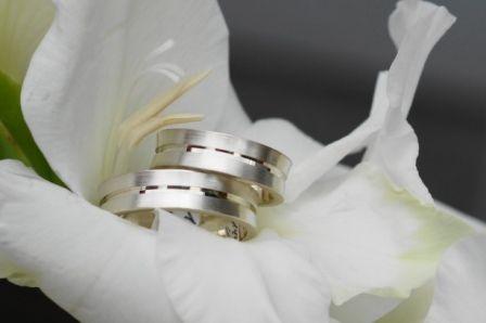 Partnerringe+Silber+°Konvex+6°+von+TrauRingSchmiede+auf+DaWanda.com