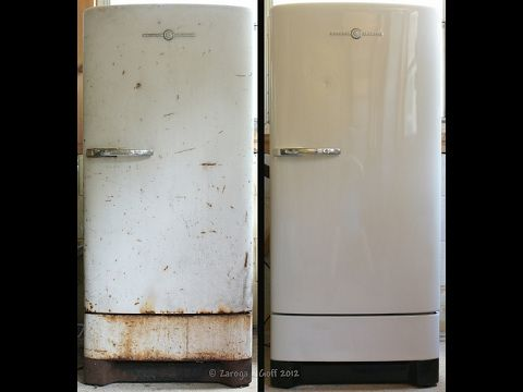 How To Remove Rust Or Clean The Chest Freezer Deep