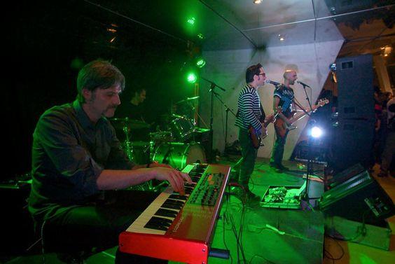 Band Dessine en directo en el Escenario Santander, el  26  de abril de 2013  #Cantabria #Spain