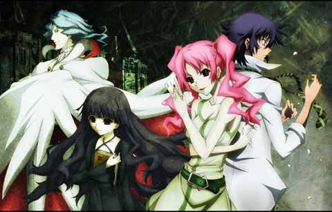 Shiki - A mind blowing anime! I loved it even though the whole thing was a mind fuck! If you are looking for a thriller type anime then watch this, you won't regret it!