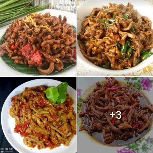 Lada Halus 1 2 Ruas Jahe Langkah 1 Bersihkan Usus Dan Goreng Usus Setengah Mateng Tiriskan 2 Resep Masakan Makanan Dan Minuman Resep Masakan Indonesia