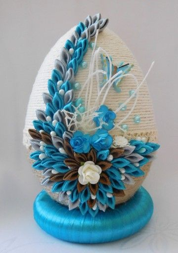 Piekne Jajko Pisanka Ozdoby Wielkanocne Rekodzielo 7142558820 Oficjalne Archiwum Allegro Egg Crafts Easter Crafts Egg Art