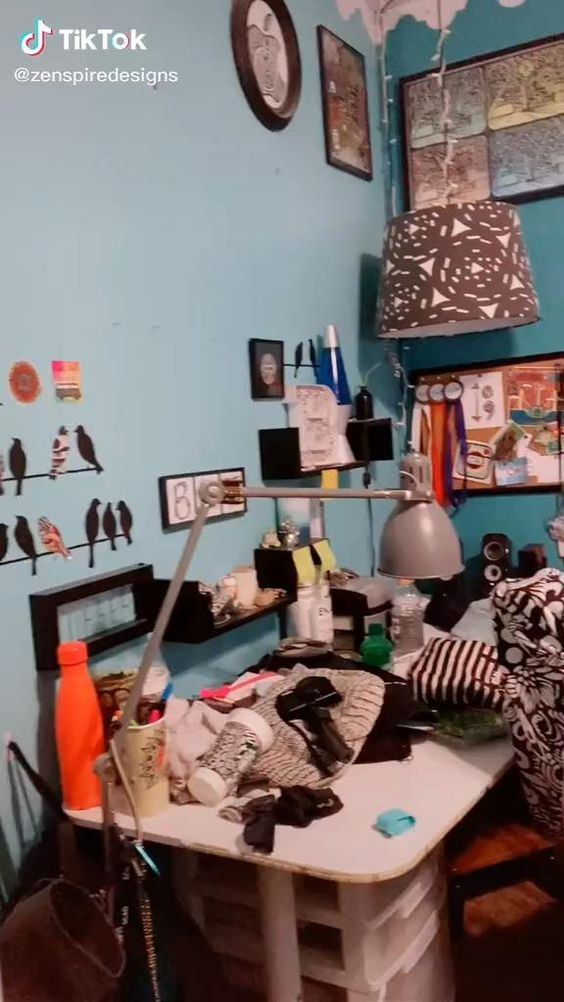 90% DONE! still have one corner left of my room to makeover! #bedroomcheck #fyp #glowup #makeover