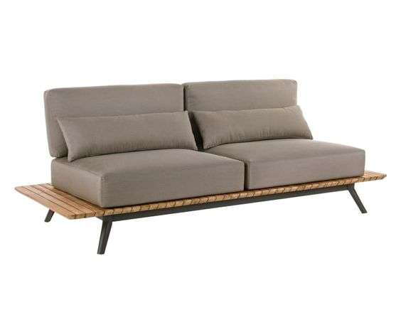 Outdoor Dreieinhalbsitzer Sofa Catalina Mit Sitzkissen