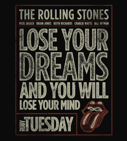 Camiseta Rolling Stones - Ruby Tuesday