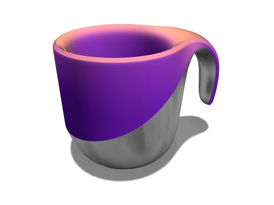 Mug Variation A 3d Model Created With Vectary The Free Online 3d Modeling Tool