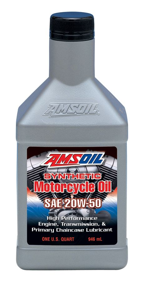 20W-50 Advanced Synthetic Motorcycle Oil. API SG, SL/CF, CG-4; JASO MA/MA2; ISO-L-EMA2; API GL-1 Advanced multi-functional formula for both domestic and foreign motorcycles. Excellent in air-cooled motorcycle engines due to high heat resistance. Can be used in engines, transmissions and the primary chaincase. Not recommended where an API GL-4 or GL-5 gear oil is required. See our website for more info.