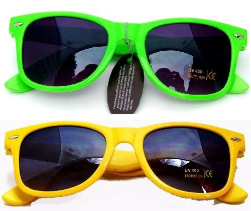Nerd® Sonnenbrillen Set Neon Gelb + Neon Grün - [ #Germany #Deutschland ] #Handtasche [ more details at ... http://deutschdesign.apparelique.com/nerd-sonnenbrillen-set-neon-gelb-neon-grun/ ]