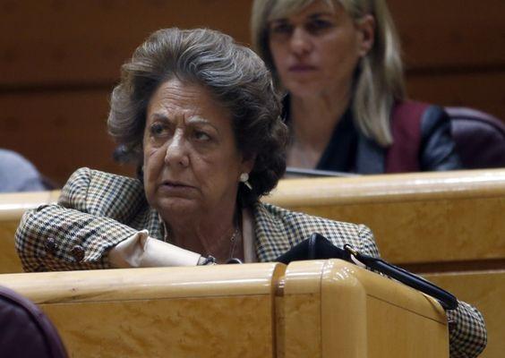 El Supremo investigará a Rita Barberá por blanquear fondos del PP de Valencia