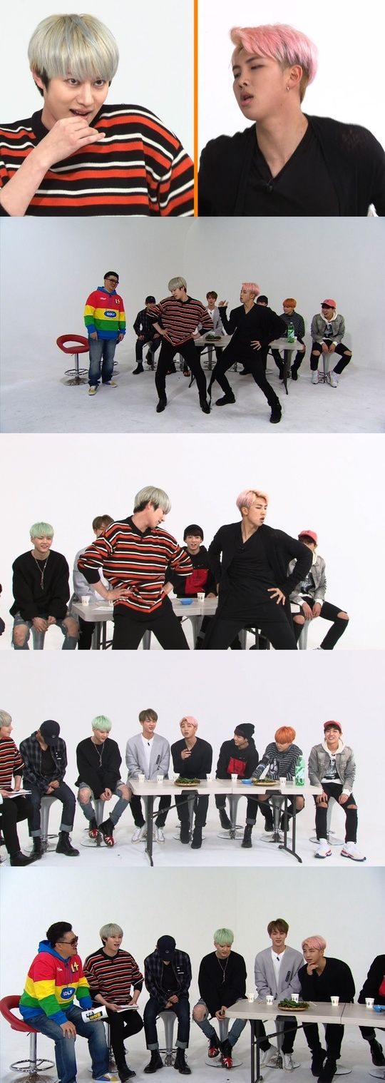BTS′ Rap Monster and Super Junior′s Heechul Perform ′Up & Down′ on ′Weekly Idol′: