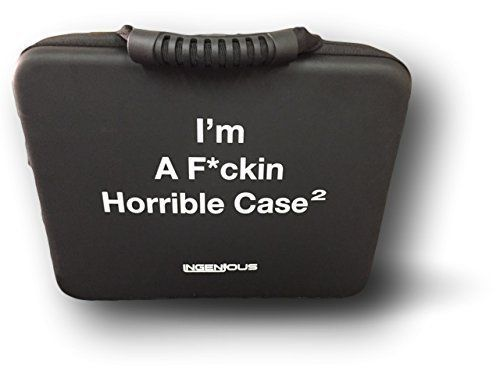 InGenious I'm A F*ckin Horrible Case for Cards Against Humanity Game, Black, X-Large