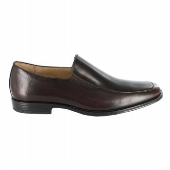 Stacy Adams Malone Shoes (Dark Brown) - Men's Shoes - 10.0 M