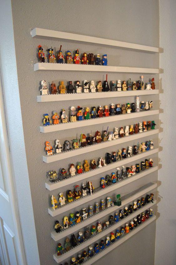 LEGO uitstallen in slaapkamer of woonkamer
