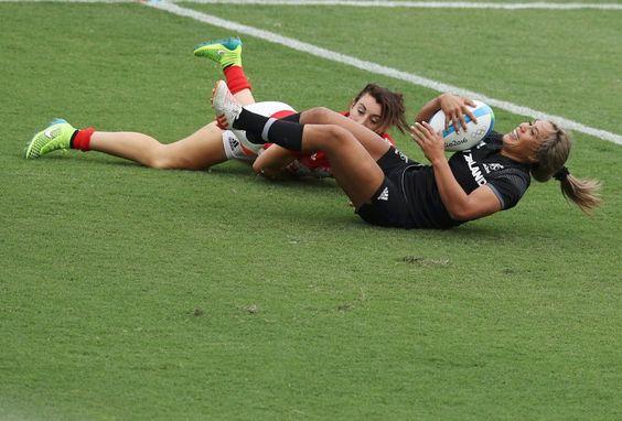 Großbritannien unterlag Neuseeland im Rugby-Halbfinale der Frauen. Im Finale...