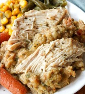 New Cake Recipes: Crock Pot Chicken and Stuffing
